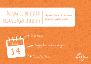 [Ebook] Agenda do Dentista: Organização Eficiente